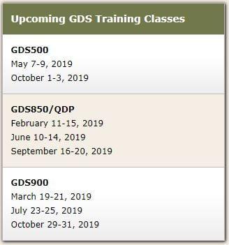 GDS Classes